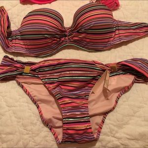 Victoria secret bikini with 2 tops